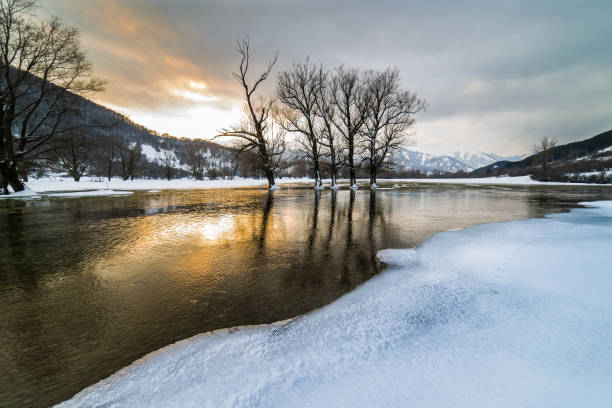 Parco nazionale d ' abruzzo e molise 6 - foto de stock