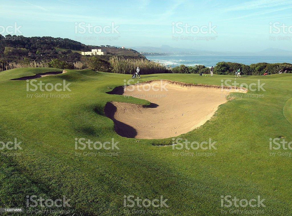 parcours de golf - Photo