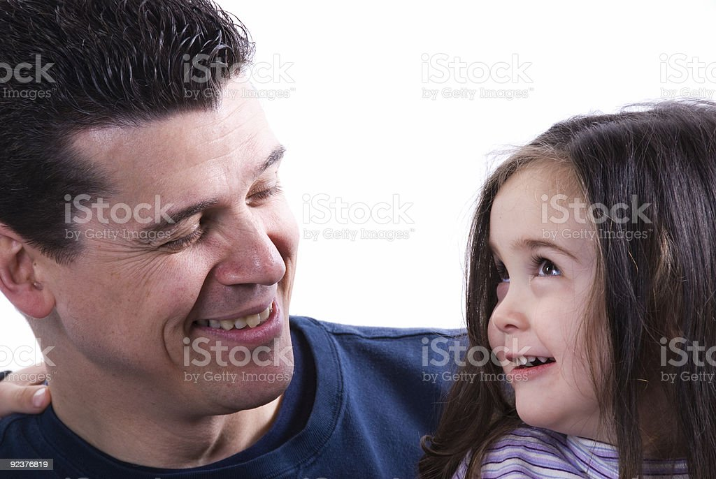Parent Love royalty-free stock photo