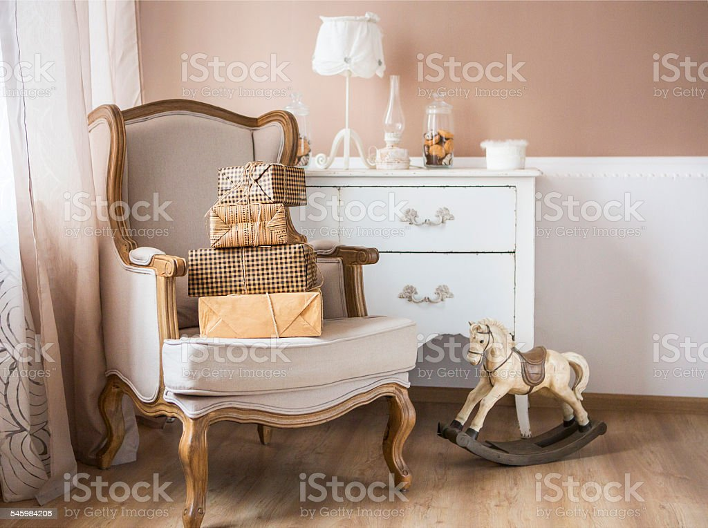 Parenting and baby room stock photo