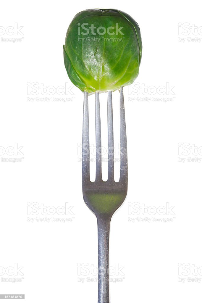 parenting battlegrounds: the brussel sprout stock photo