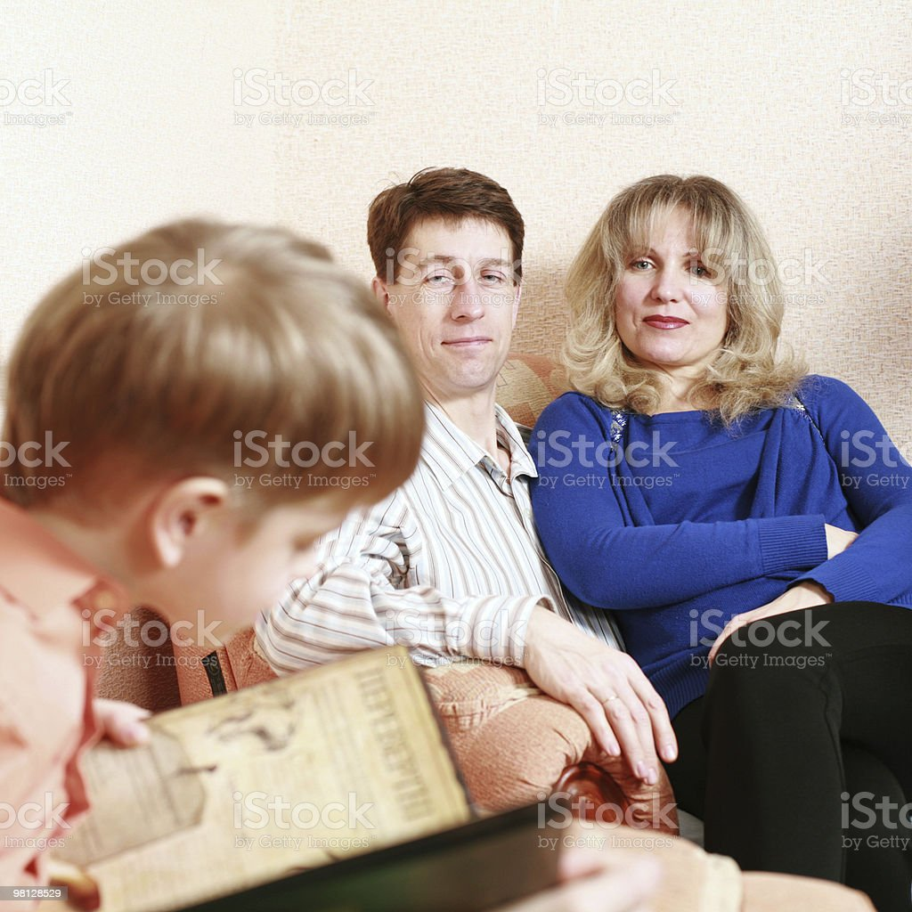 Parents royalty-free stock photo