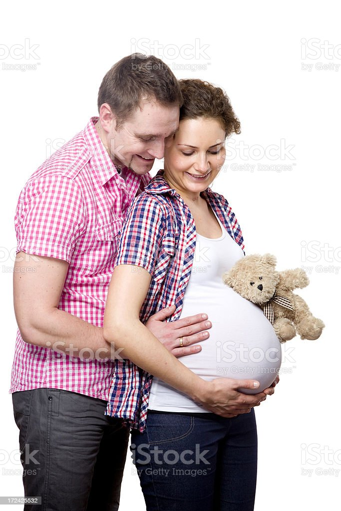 Parents to be royalty-free stock photo