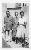 Parents with daughter in 1942, Italy