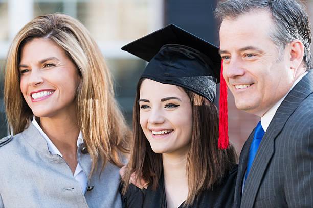 Royalty Free Graduation Parent Family High School Student ...