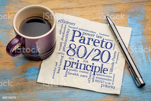 Pareto Prinzip Eighty 20regel Stockfoto und mehr Bilder von Justizwesen