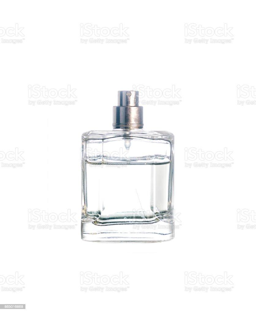 Parfume On White stock photo