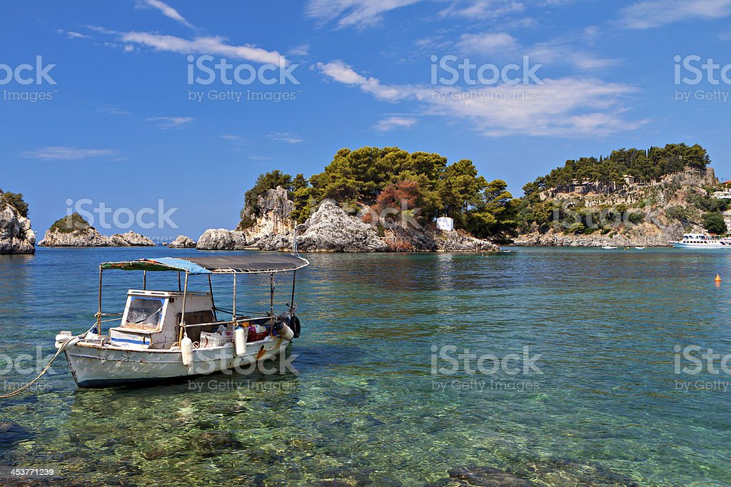 Parga area in Greece stock photo