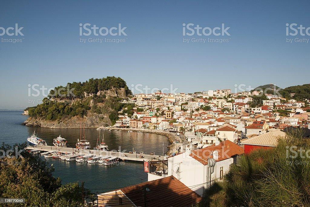 Parga Greece stock photo