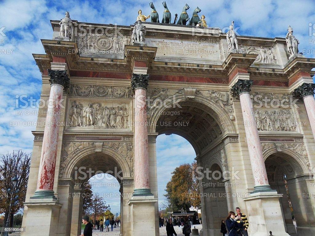 Parigi - Arc de Triomphe du Carrousel – Foto