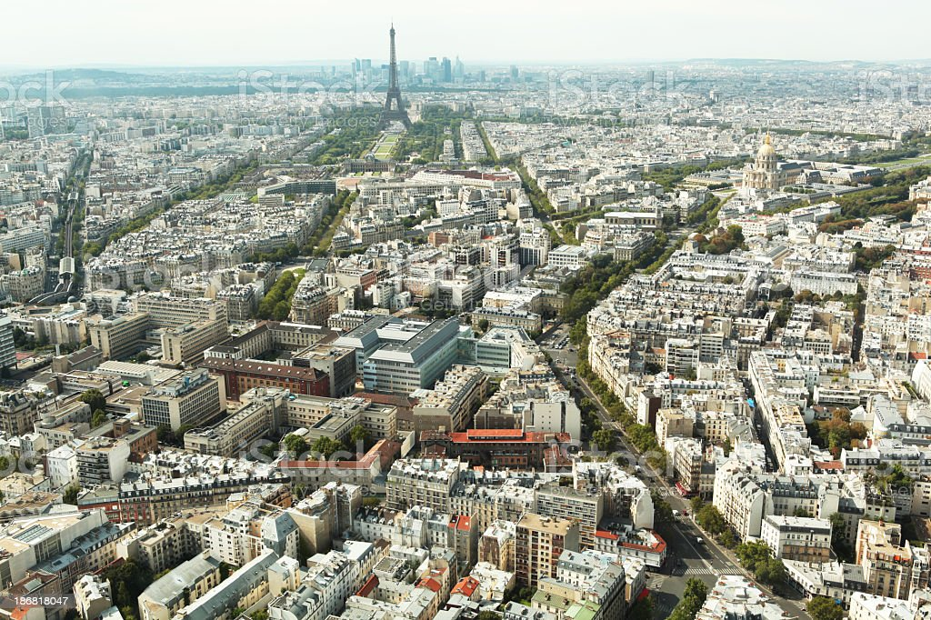Vue aérienne de Paris - Photo