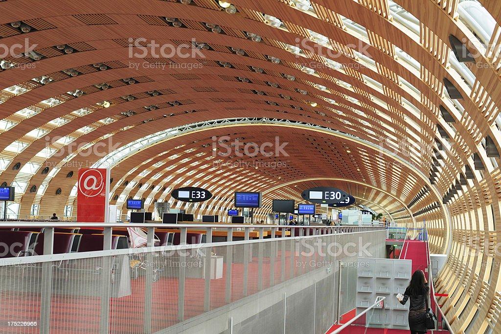 Paris Airport, France royalty-free stock photo