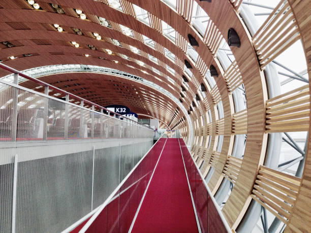 Paris Airport, France Paris Airport, France. Photo taken with an iphone 5. val d'oise stock pictures, royalty-free photos & images