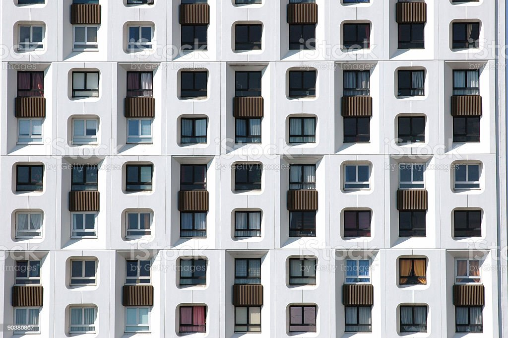 Paris Apartment Building royalty-free stock photo