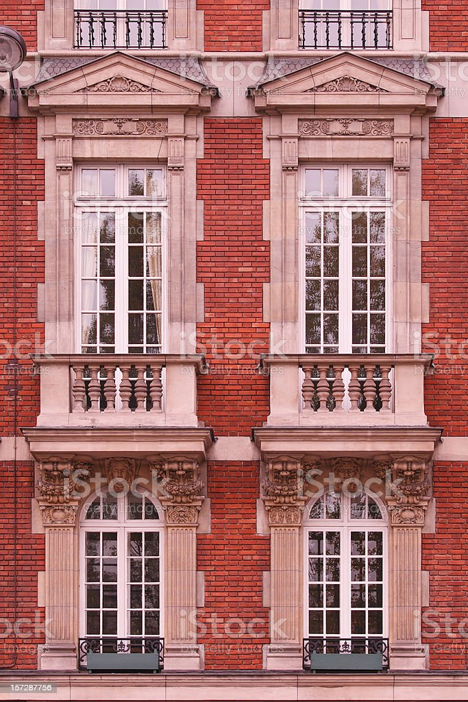 Paris Architecture royalty-free stock photo