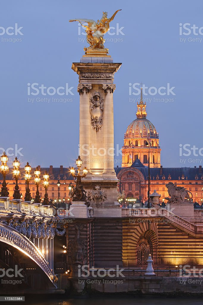 Paris Architecture royalty-free stock photo