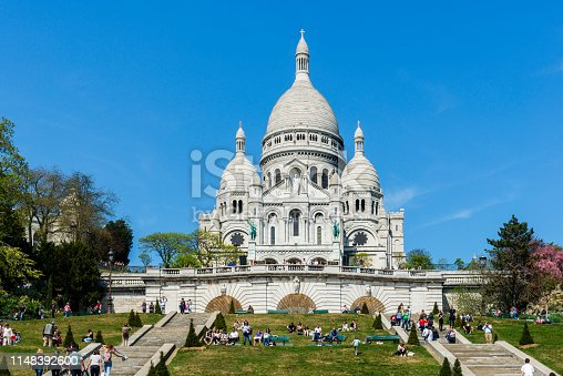 Paris, Basilica Sacre Coeur