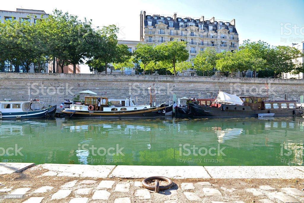 Paris, Bastille stock photo