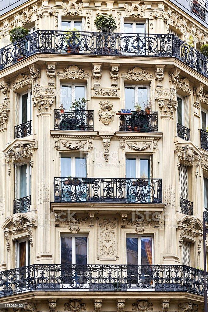 Paris building royalty-free stock photo