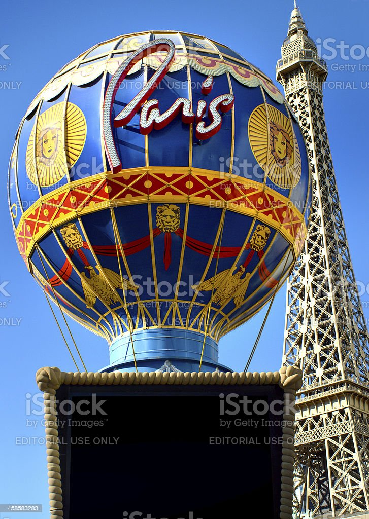 Paris Casino In Las Vegas royalty-free stock photo