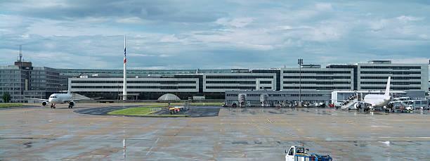 Paris Charles de Gaulle International Airport International Airport in Paris, France. SEE MY OTHER SIMILAR PHOTOS: val d'oise stock pictures, royalty-free photos & images