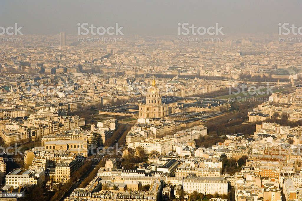 Paris City View France royalty-free stock photo