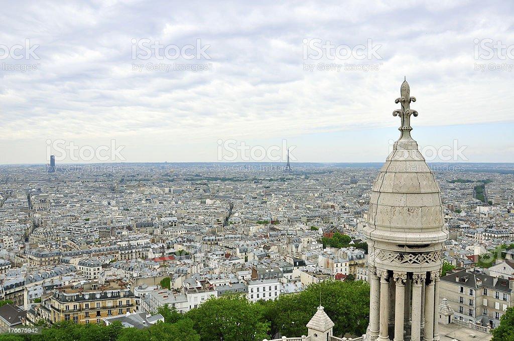 Paris cityscape royalty-free stock photo