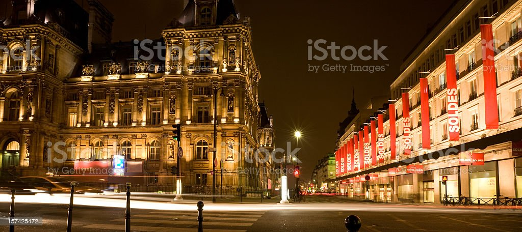 Paris, Department Store, France stock photo