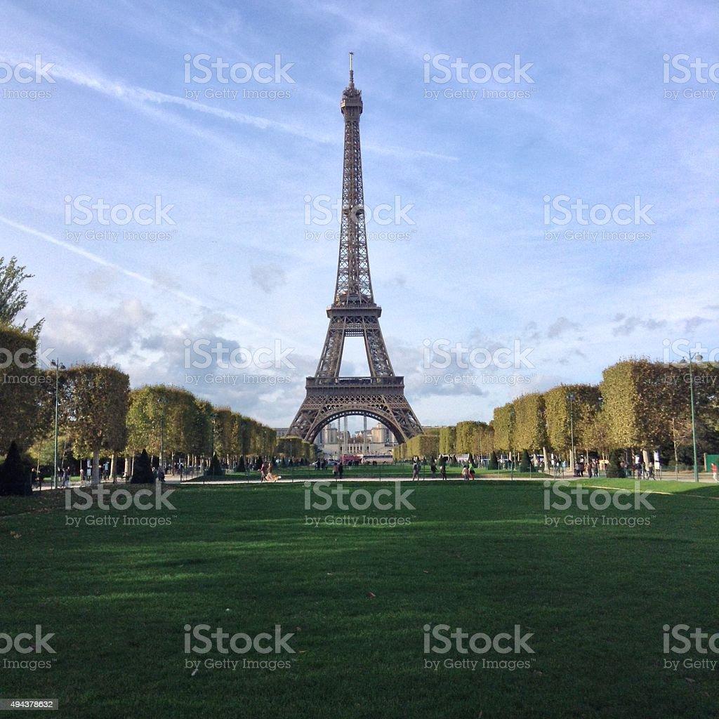 Paris. Eifel tower stock photo