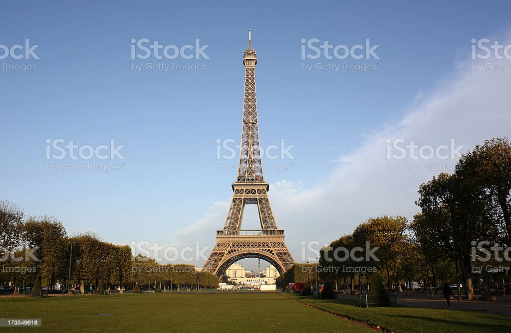 Paris Eiffel Tower royalty-free stock photo