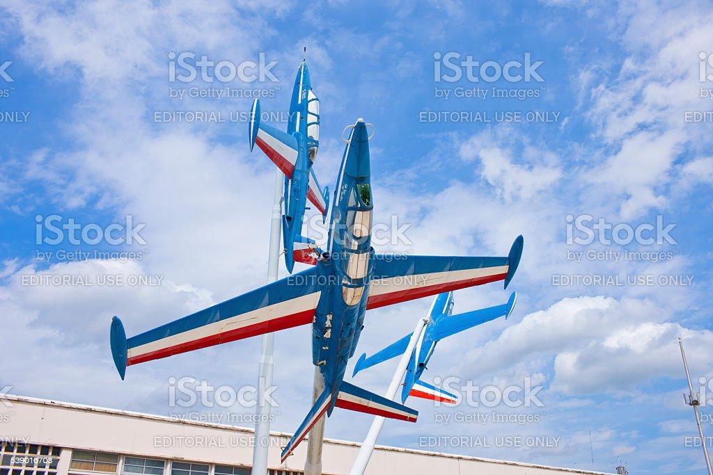 Paris, France, Le Bourget Airport stock photo
