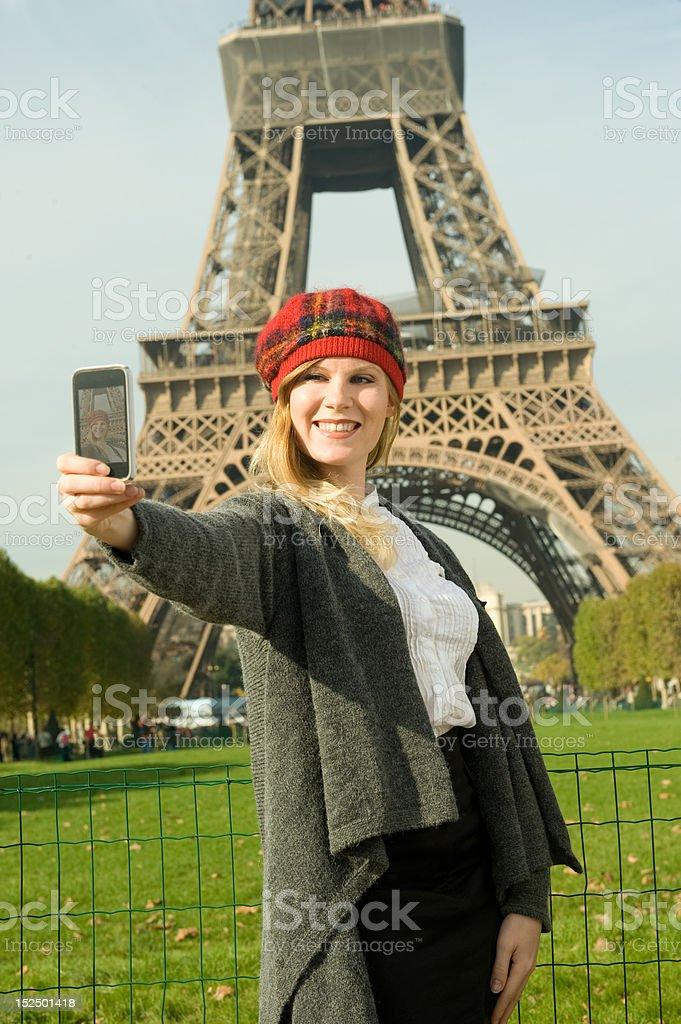 Paris Girl royalty-free stock photo