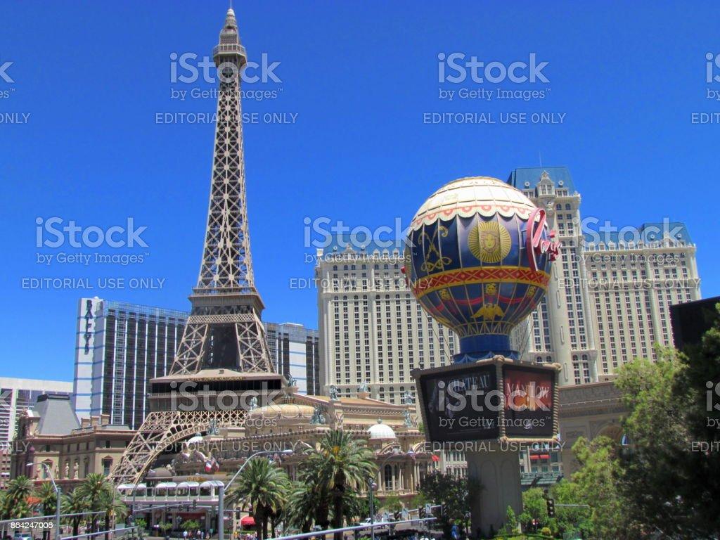 Paris Hotel Las Vegas royalty-free stock photo