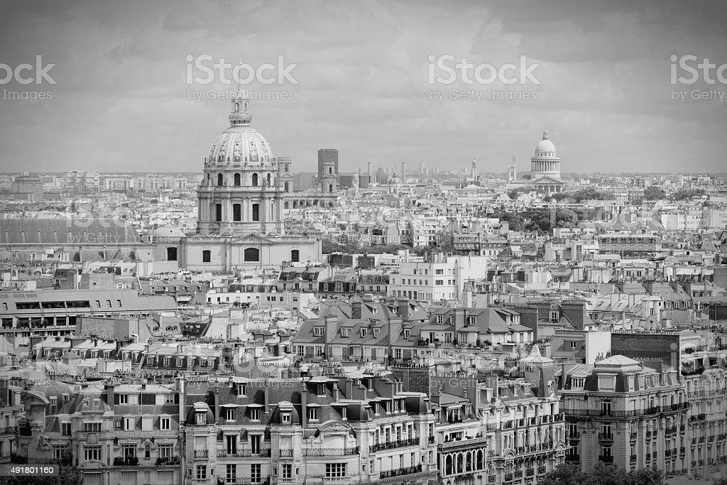 Paris Invalides stock photo