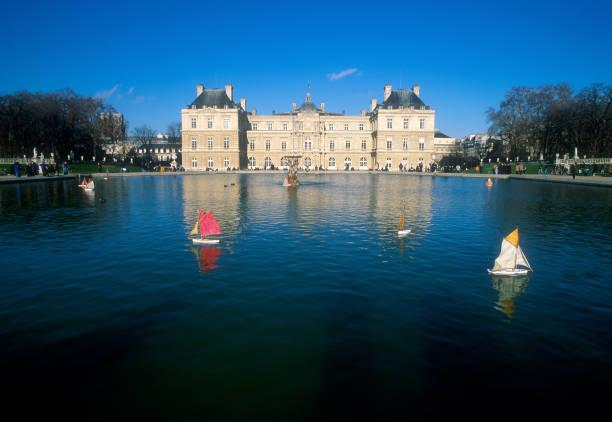 Paris, Jardin Du Luxembourg stock photo