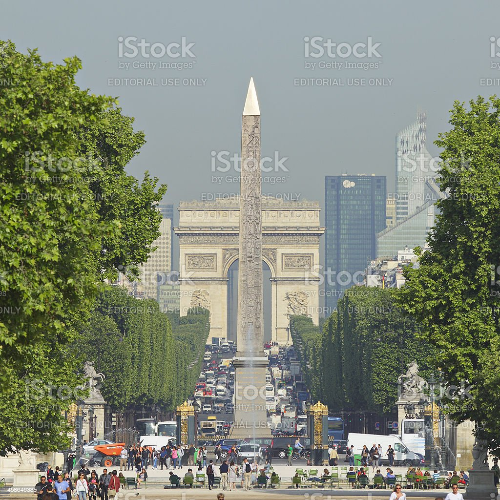 Paris Landmarks royalty-free stock photo