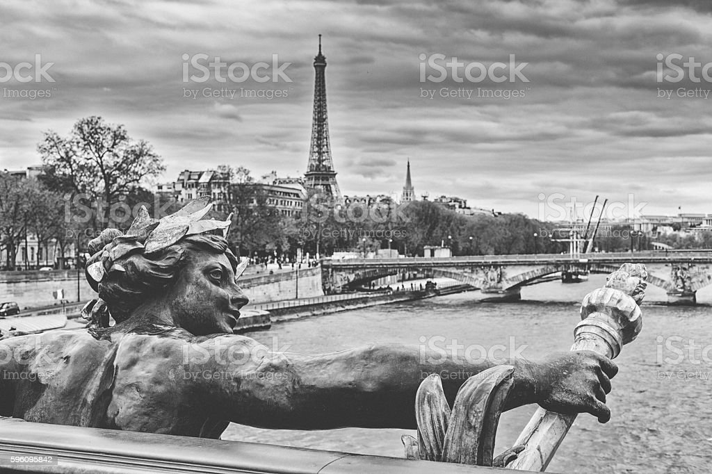 Paris landmarks royalty-free stock photo