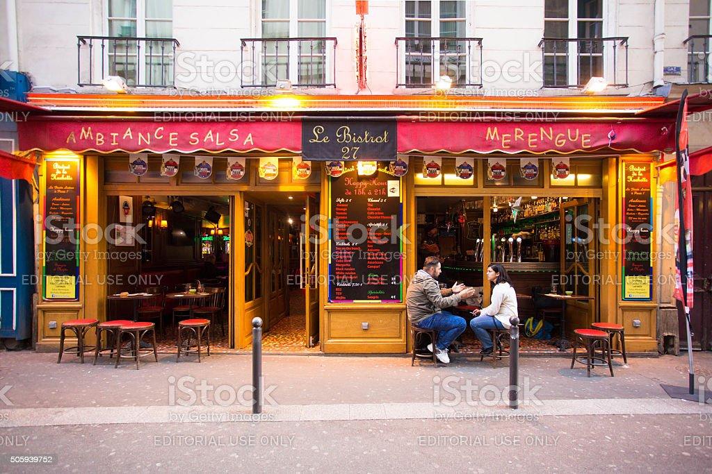 Paris Latin Quarter stock photo