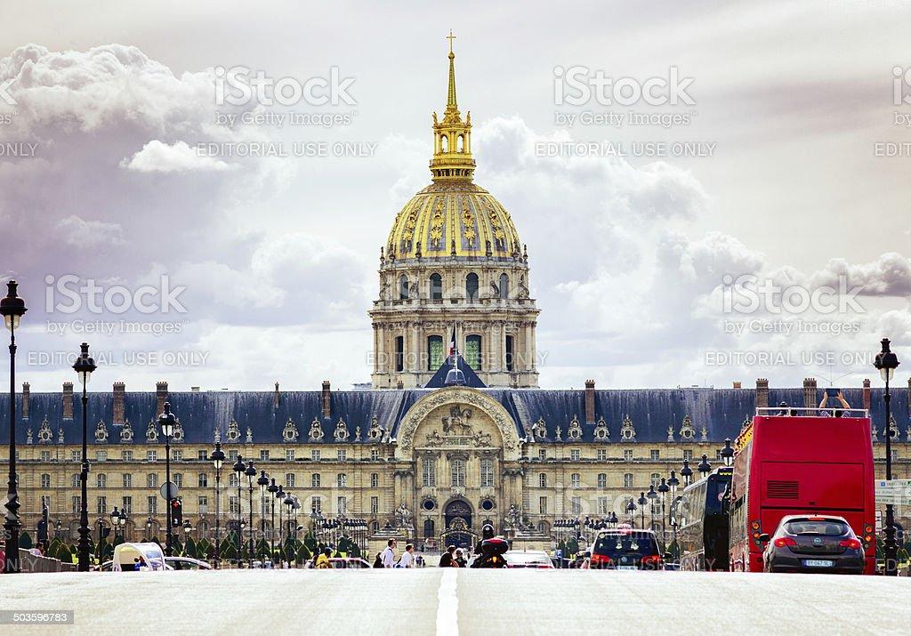 Paris - Les Invalides stock photo