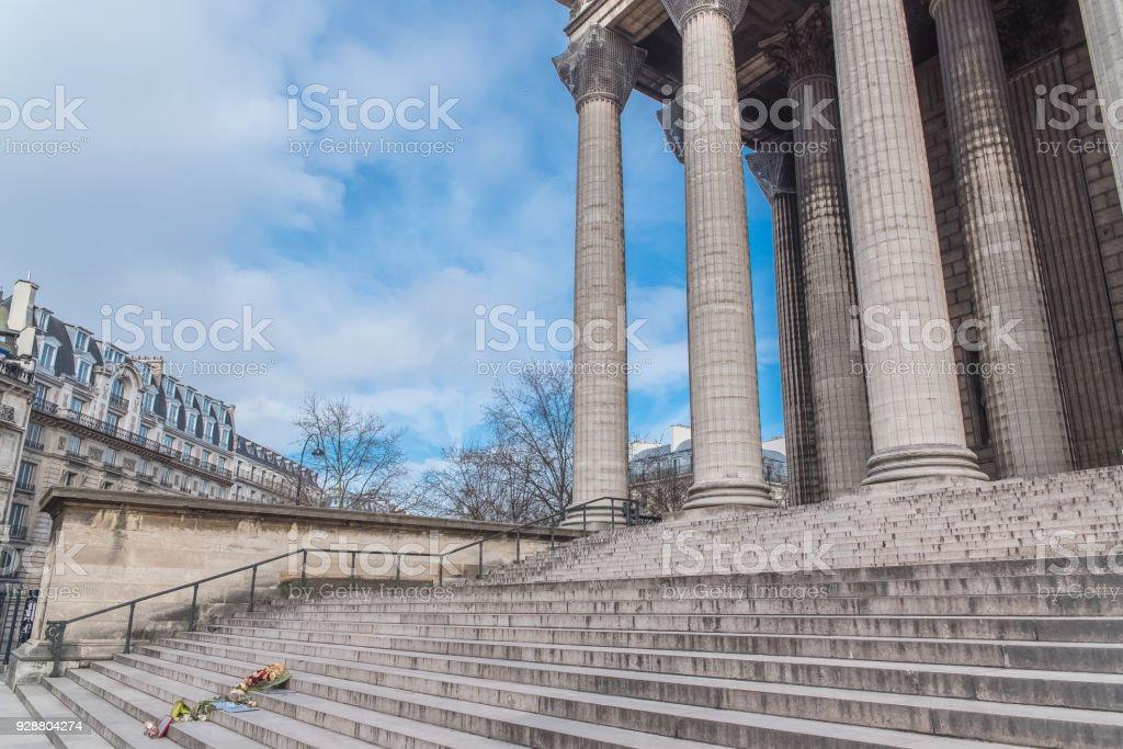 Paris, Madeleine church stock photo