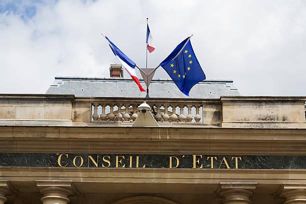 Paris, Monument, Conseil d'Etat stock photo