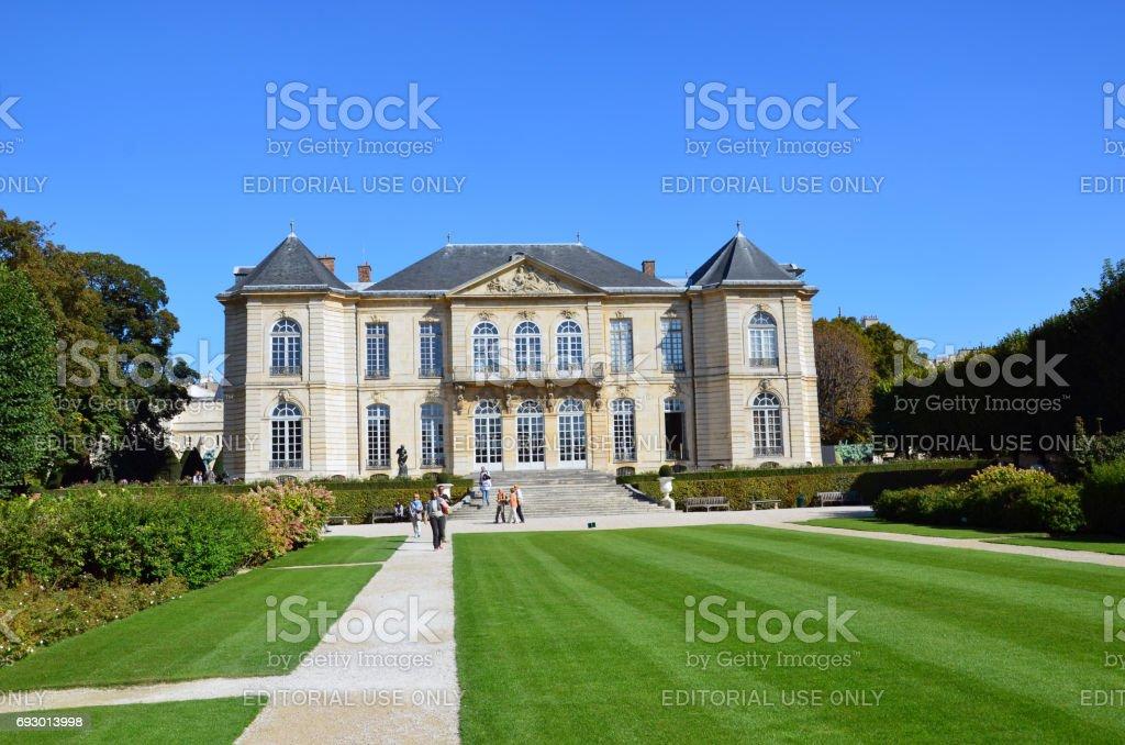 Paris - Museum Rodin. stock photo