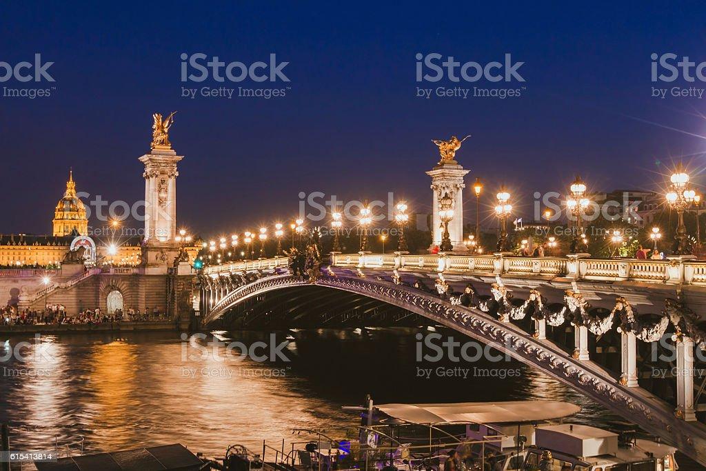 Paris Night Scene Stock Photo Download Image Now Istock