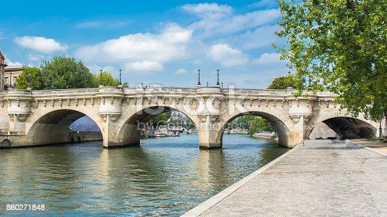 istock Paris, panorama of the Pont-Neuf 860271848