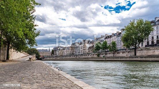 istock Paris, panorama of the quai de Conti 1062782726