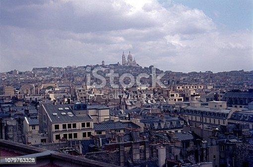 Paris, Il de France, France, 1974. Paris Cityscape.