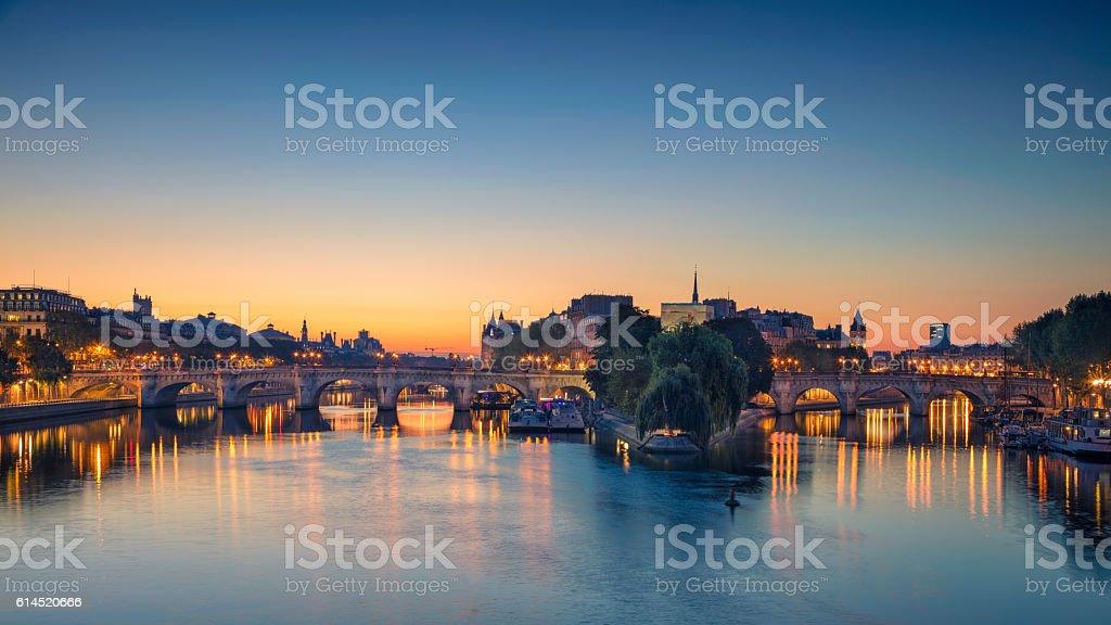 Paris Panorama. stock photo