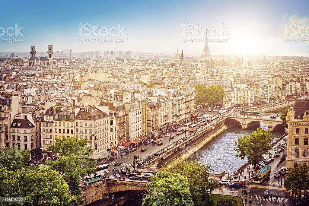 Paris stock photo