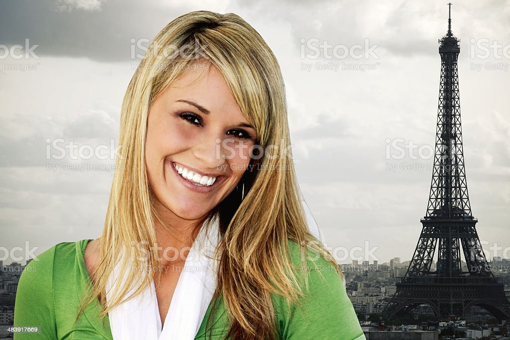 Paris Portraits royalty-free stock photo