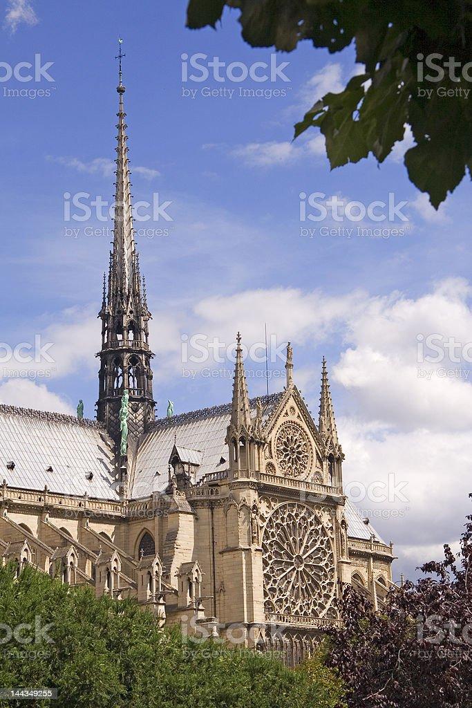 Paris Postcard stock photo